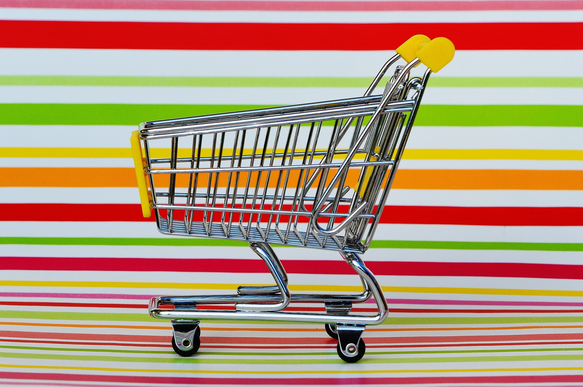 Why does food end up in your trolley?